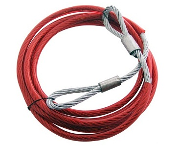 STEEL TOWING ROPE